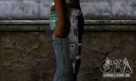 Uzi из Call of Duty Black Ops para GTA San Andreas terceira tela