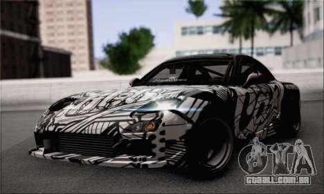 Mazda RX-7 Fail Crew para GTA San Andreas