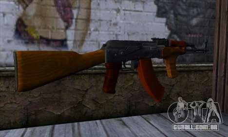 Romanian AKM para GTA San Andreas segunda tela