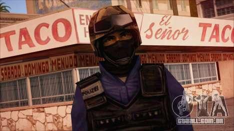 GSG9 from Counter Strike Condition Zero para GTA San Andreas terceira tela