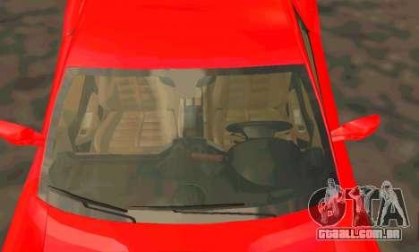 Ferrari 599 Beta v1.1 para GTA San Andreas vista traseira