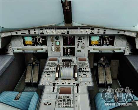 Airbus A380-800 Air Canada para GTA San Andreas interior