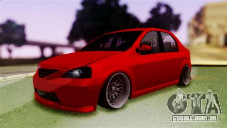Dacia Logan Kys para GTA San Andreas