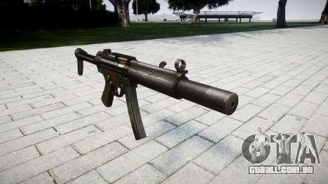 Arma MP5SD RO FS para GTA 4