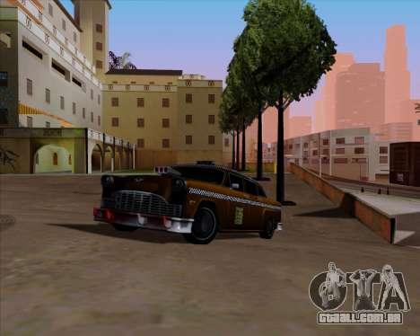 Borgnine para GTA San Andreas vista interior