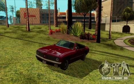 ENB para baixo PC (SAMP) para GTA San Andreas segunda tela