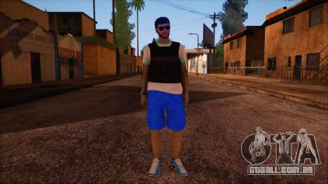 GTA 5 Online Skin 15 para GTA San Andreas