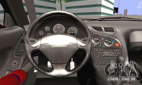 Mazda RX-7 Fail Crew para GTA San Andreas traseira esquerda vista