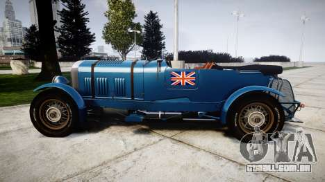 Bentley Blower 4.5 Litre Supercharged [high] para GTA 4 esquerda vista