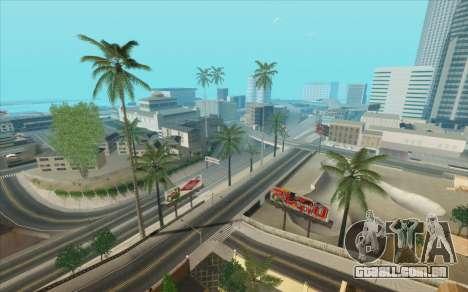 ENB para baixo PC (SAMP) para GTA San Andreas sétima tela