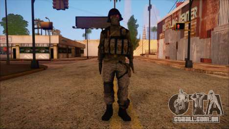 Recon from Battlefield 3 para GTA San Andreas