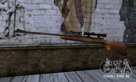 Sniper Rifle from The Walking Dead para GTA San Andreas