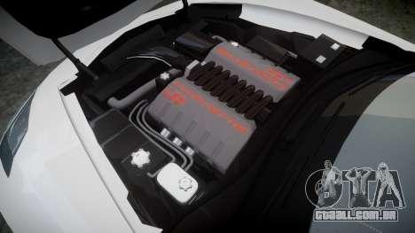 Chevrolet Corvette C7 Stingray 2014 v2.0 TireMi3 para GTA 4 vista lateral