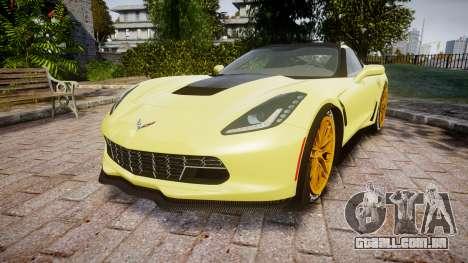 Chevrolet Corvette Z06 2015 TireGY para GTA 4