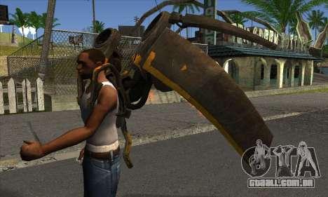 Jetpack from Batman Arkham Origins para GTA San Andreas segunda tela
