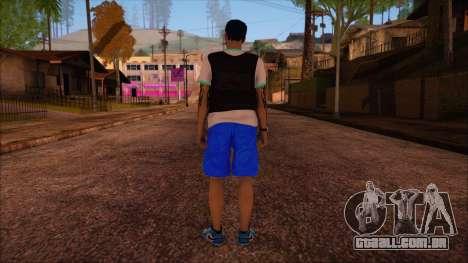 GTA 5 Online Skin 15 para GTA San Andreas segunda tela