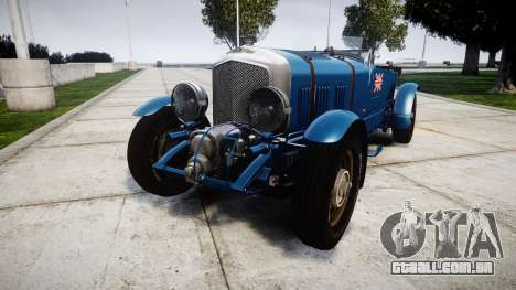 Bentley Blower 4.5 Litre Supercharged [high] para GTA 4