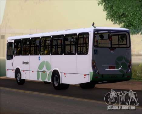 Marcopolo Torino G7 2007 Mercedes-Benz OF-1722M para vista lateral GTA San Andreas