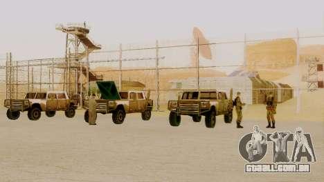 Recuperação da zona 69 para GTA San Andreas por diante tela