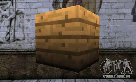 Bloco (Minecraft) v11 para GTA San Andreas segunda tela