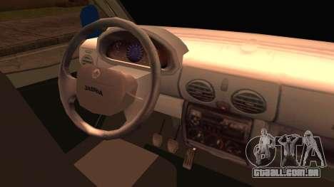 Ford Transit para GTA San Andreas traseira esquerda vista