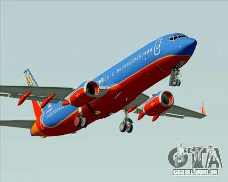 Boeing 737-800 Southwest Airlines para o motor de GTA San Andreas