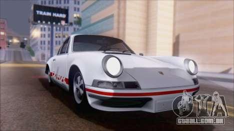 Porsche 911 Carrera 1973 Tunable KIT A para GTA San Andreas vista direita