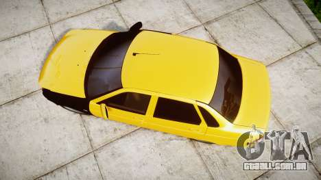 VAZ-Lada 2170 Priora hobo para GTA 4 vista direita