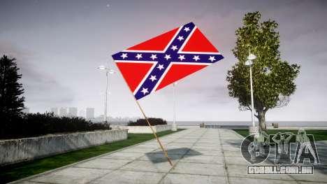 A bandeira da Confederação para GTA 4 segundo screenshot