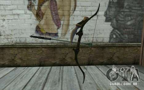 Green Arrow Bow v1 para GTA San Andreas