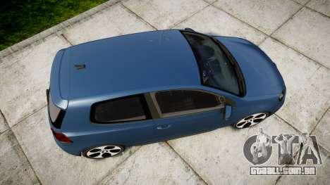 Volkswagen Golf GTI 2010 para GTA 4 vista direita