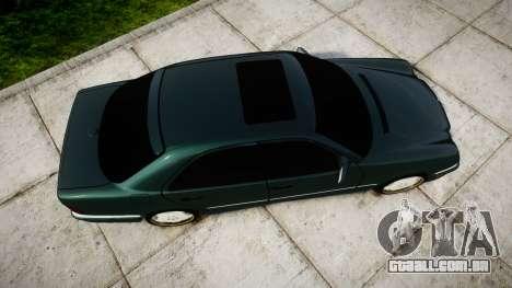 Mercedes-Benz W210 E55 2000 AMG para GTA 4 vista direita