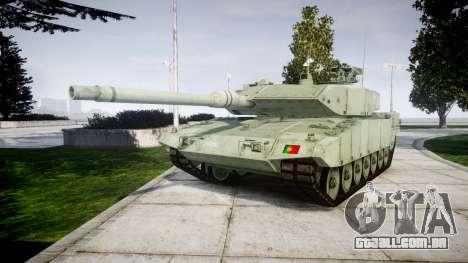 Leopard 2A7 PT Green para GTA 4
