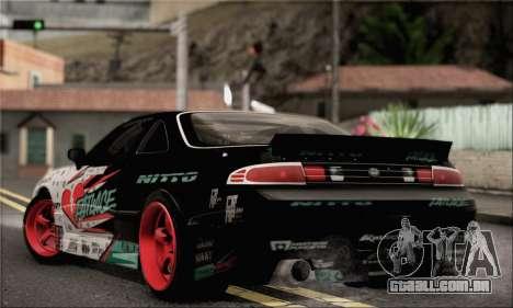 Nissan Silvia S14 Zenki Matt Powers para GTA San Andreas esquerda vista