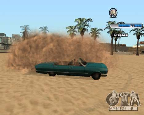 O Herp ENB FINAL para alta e média PC para GTA San Andreas quinto tela