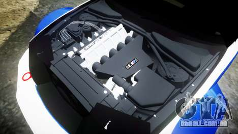 BMW M3 E46 GTR Most Wanted plate Liberty City para GTA 4 vista lateral