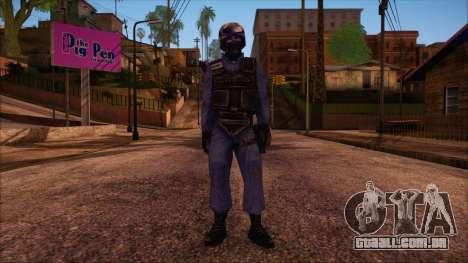 GSG9 from Counter Strike Condition Zero para GTA San Andreas