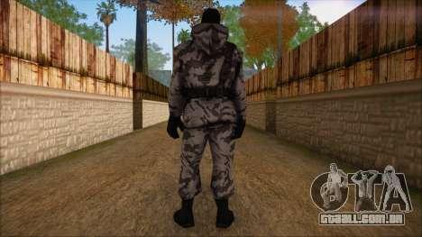 Artic from Counter Strike Condition Zero para GTA San Andreas segunda tela