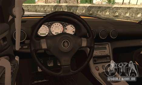 Nissan Silvia S24-5 (215SX) para GTA San Andreas traseira esquerda vista