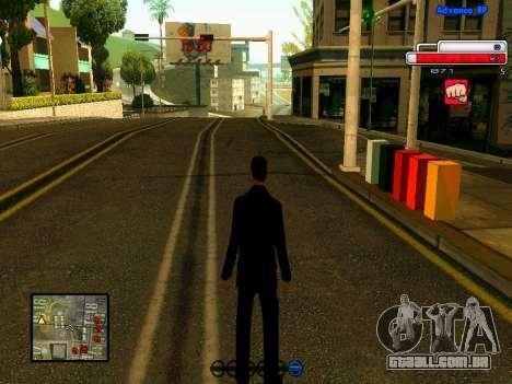 Ped.ifp v2 para GTA San Andreas sexta tela