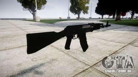 O AKM-74 para GTA 4 segundo screenshot