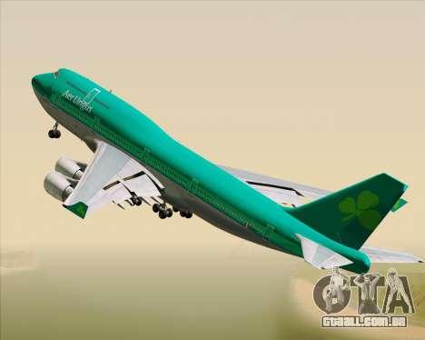 Boeing 747-400 Aer Lingus para GTA San Andreas