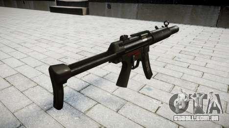 Arma MP5SD RO FS para GTA 4 segundo screenshot