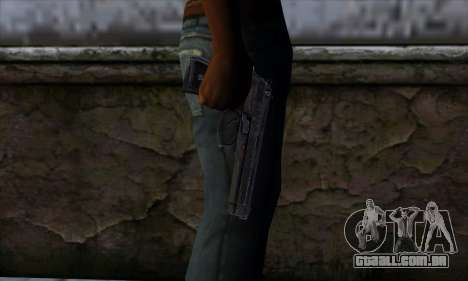 Desert Eagle para GTA San Andreas terceira tela