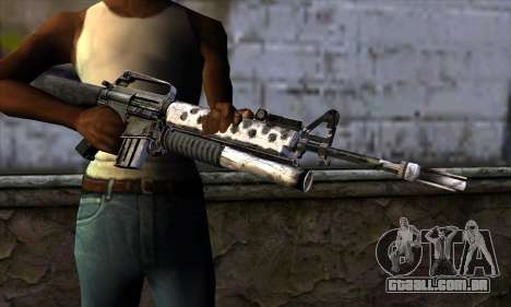M4 from Call of Duty: Black Ops v2 para GTA San Andreas terceira tela