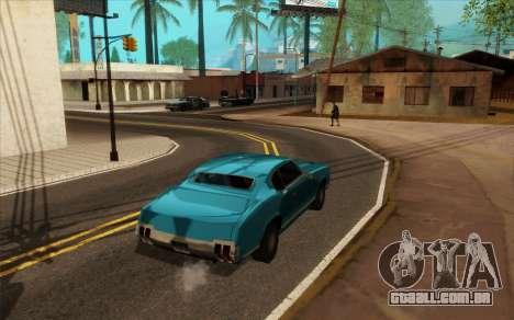 ENB para baixo PC (SAMP) para GTA San Andreas sexta tela