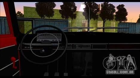 Tofas Murat 124 para GTA San Andreas traseira esquerda vista