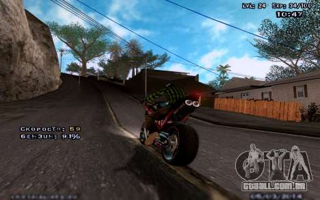 Gráficos melhorados por meio de computadores para GTA San Andreas terceira tela