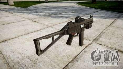 Alemão submetralhadora HK UMP 45 para GTA 4 segundo screenshot