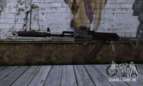 Assault Rifle from GTA 5 para GTA San Andreas